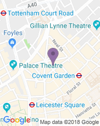 Cambridge Theatre - Dirección del teatro