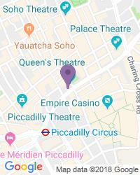 Queen's Theatre - Dirección del teatro