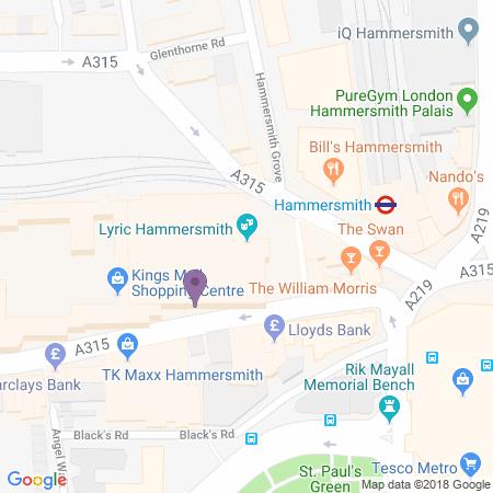 Lugar del Lyric Hammersmith