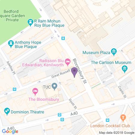 Lugar del Radisson Blu Edwardian